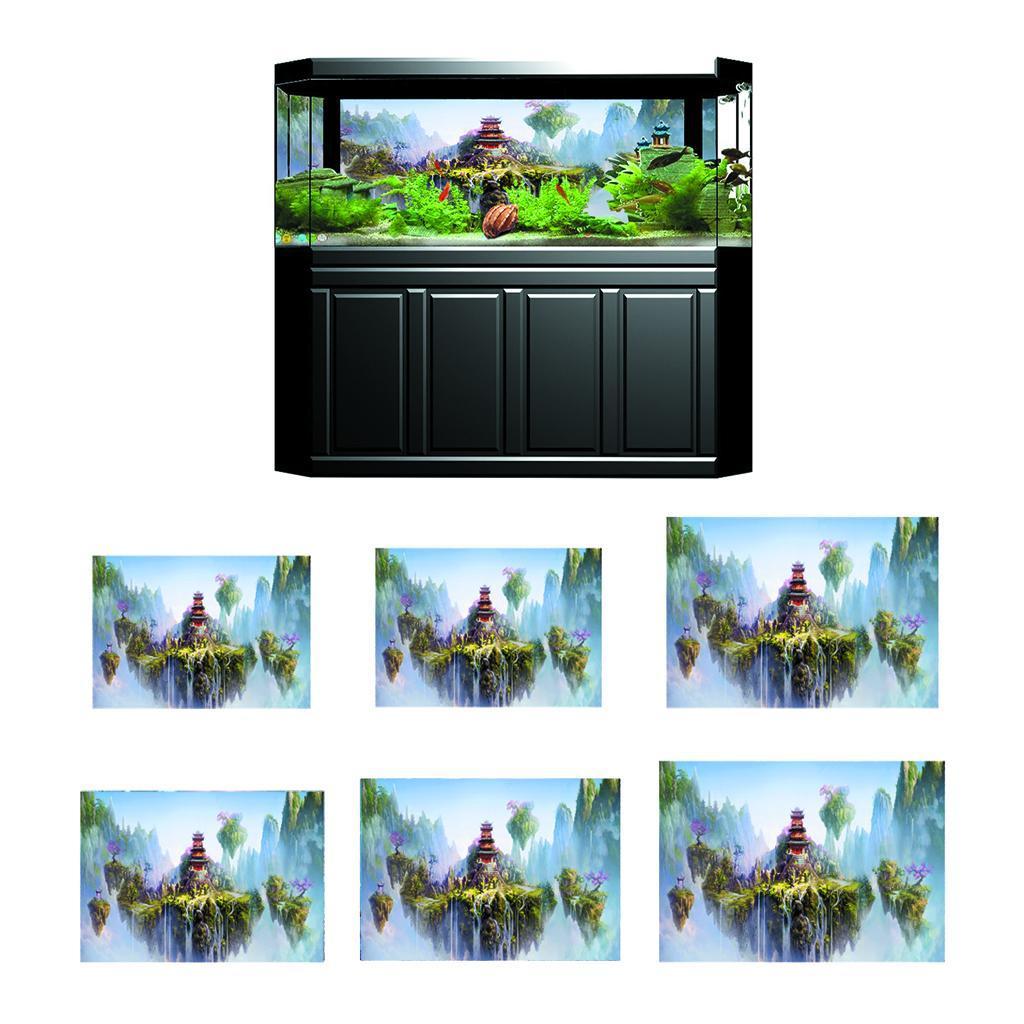 3D-High-Definition-Background-Paper-Wallpaper-Decor-for-Aquarium-Fish-Tank thumbnail 81