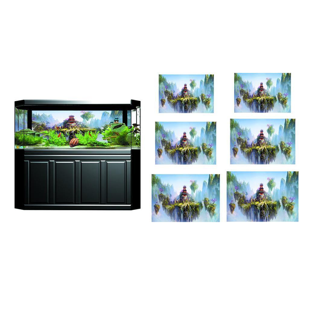 3D-High-Definition-Background-Paper-Wallpaper-Decor-for-Aquarium-Fish-Tank thumbnail 82