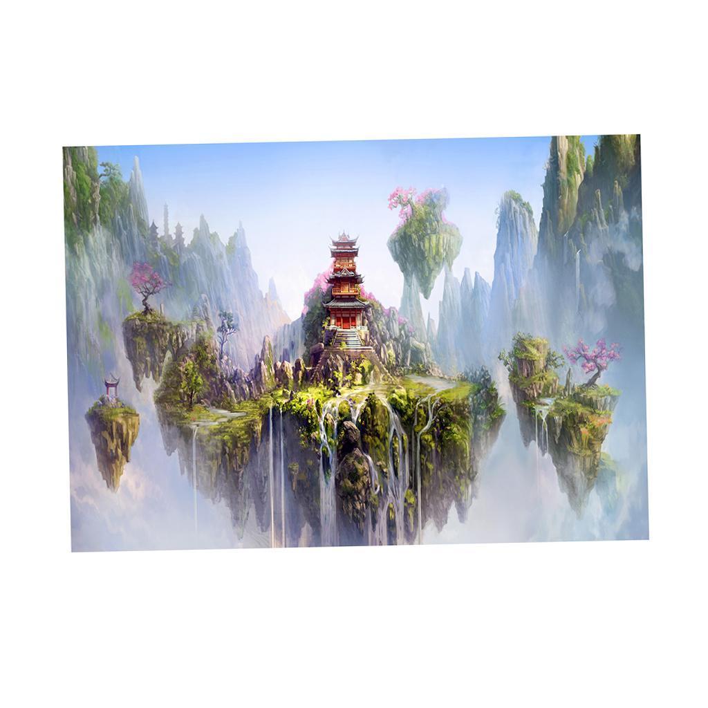3D-High-Definition-Background-Paper-Wallpaper-Decor-for-Aquarium-Fish-Tank thumbnail 80