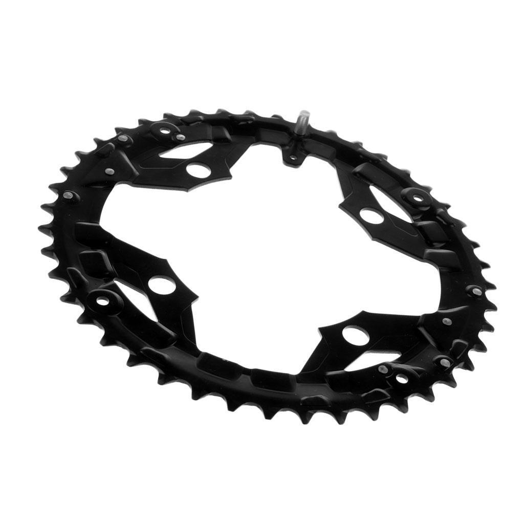 Plateau-Cassette-de-Velo-Velo-de-Montage-Bicyclette-Pignon-Fixe-104BCD-Noir miniature 3