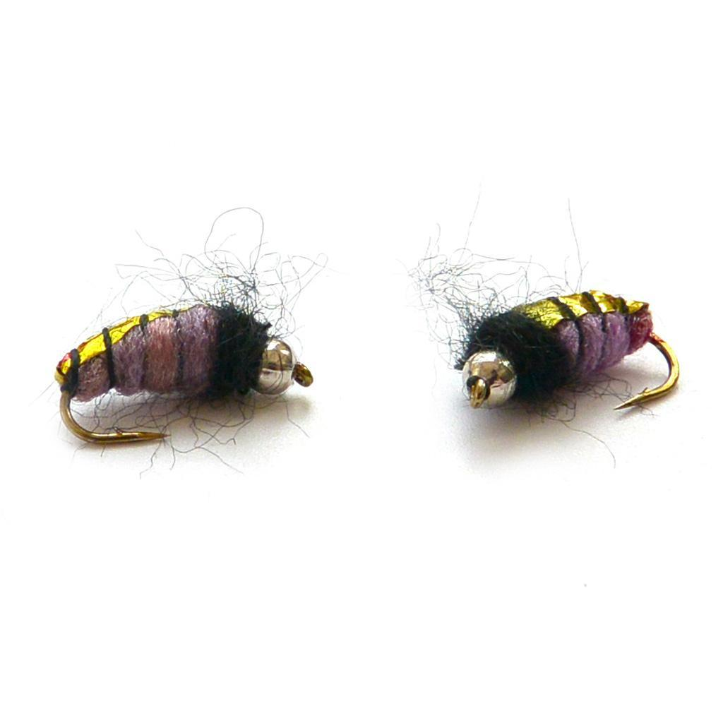 40Pcs-Trout-Fly-Fishing-Flies-Wet-Dry-Lure-Lures-Fish-Baits-Hooks-with-Box thumbnail 3