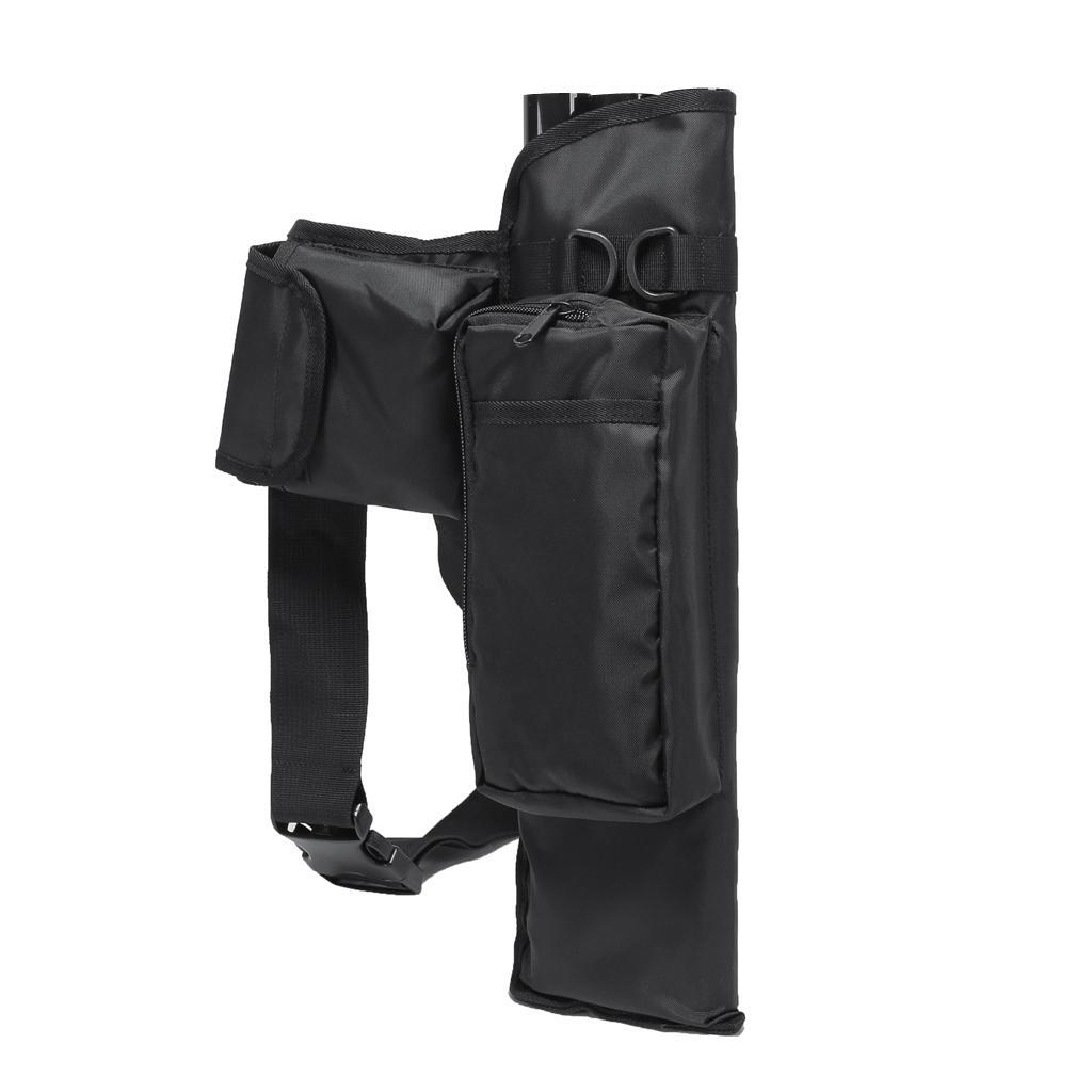 Archery-4-Tube-Camo-Arrow-Quiver-Holder-Belt-Waist-Bow-Hunting thumbnail 17