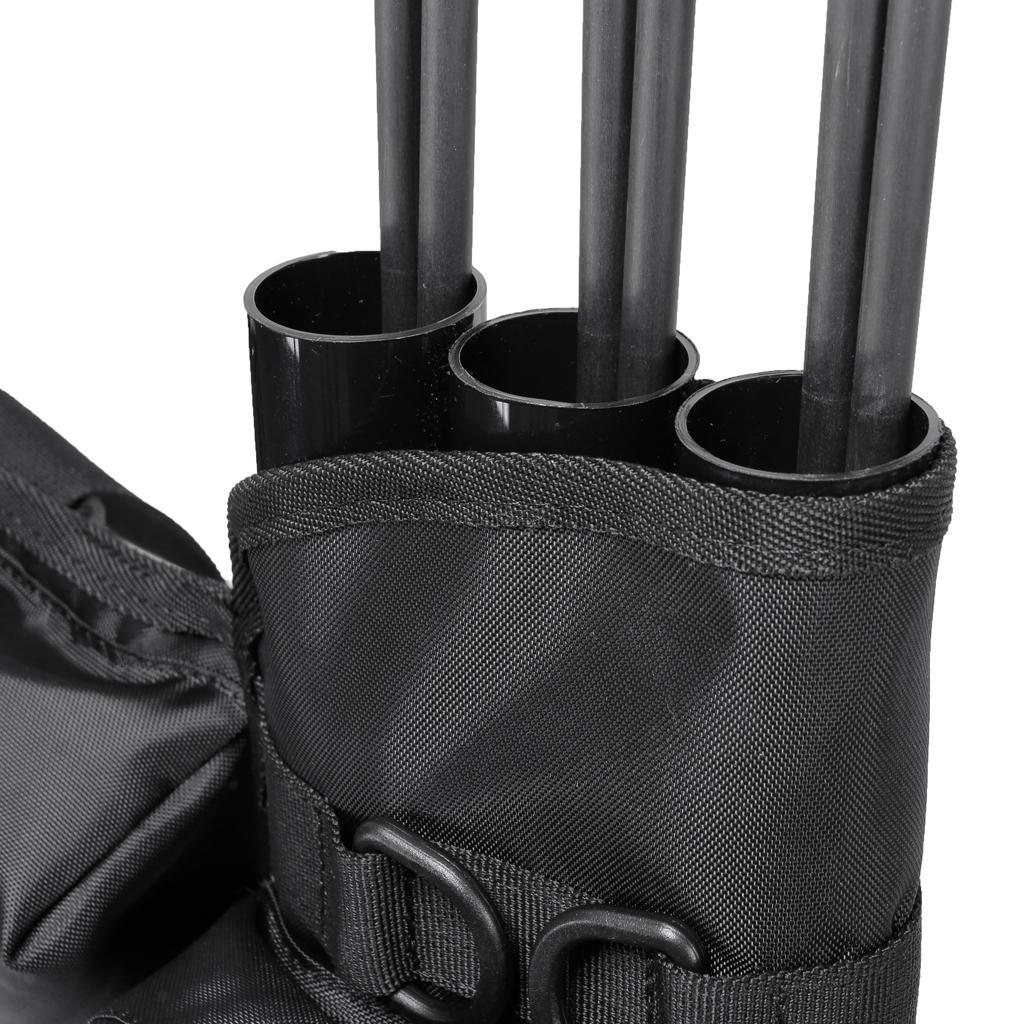 Archery-4-Tube-Camo-Arrow-Quiver-Holder-Belt-Waist-Bow-Hunting thumbnail 18