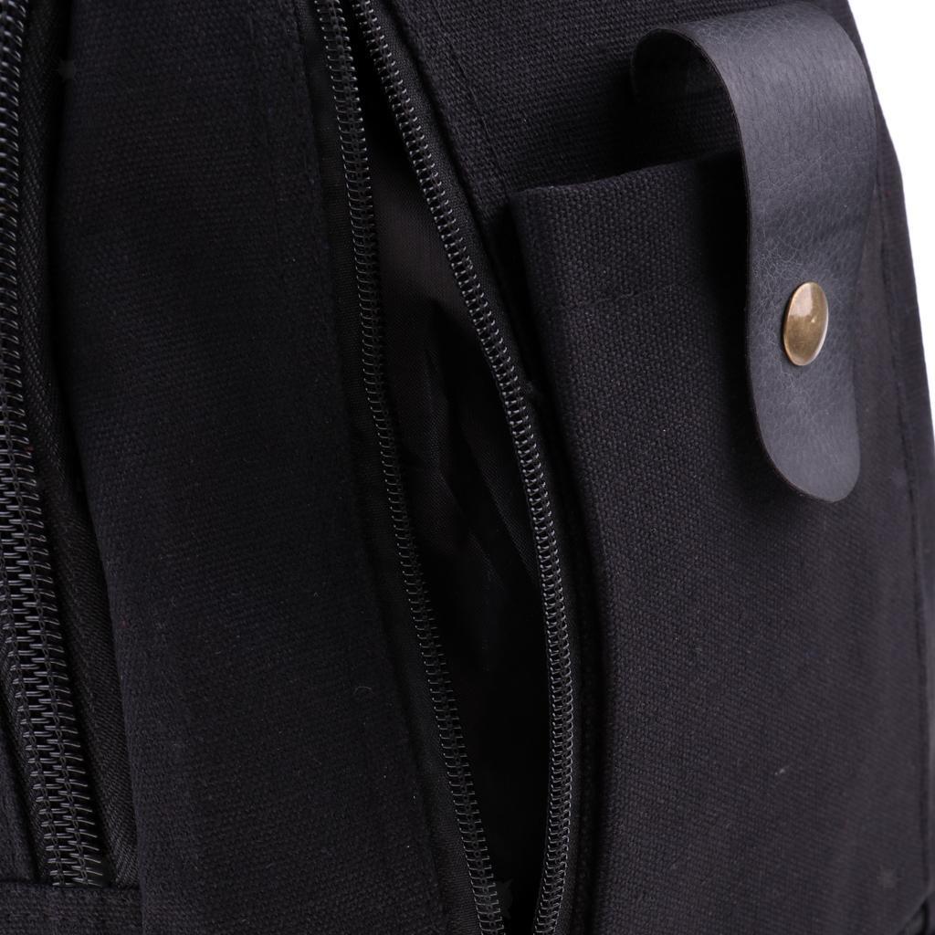 Sac-a-dos-En-Toile-Sac-D-039-ordinateur-Portable-Cartable-Pack-De-Sport-En miniature 21