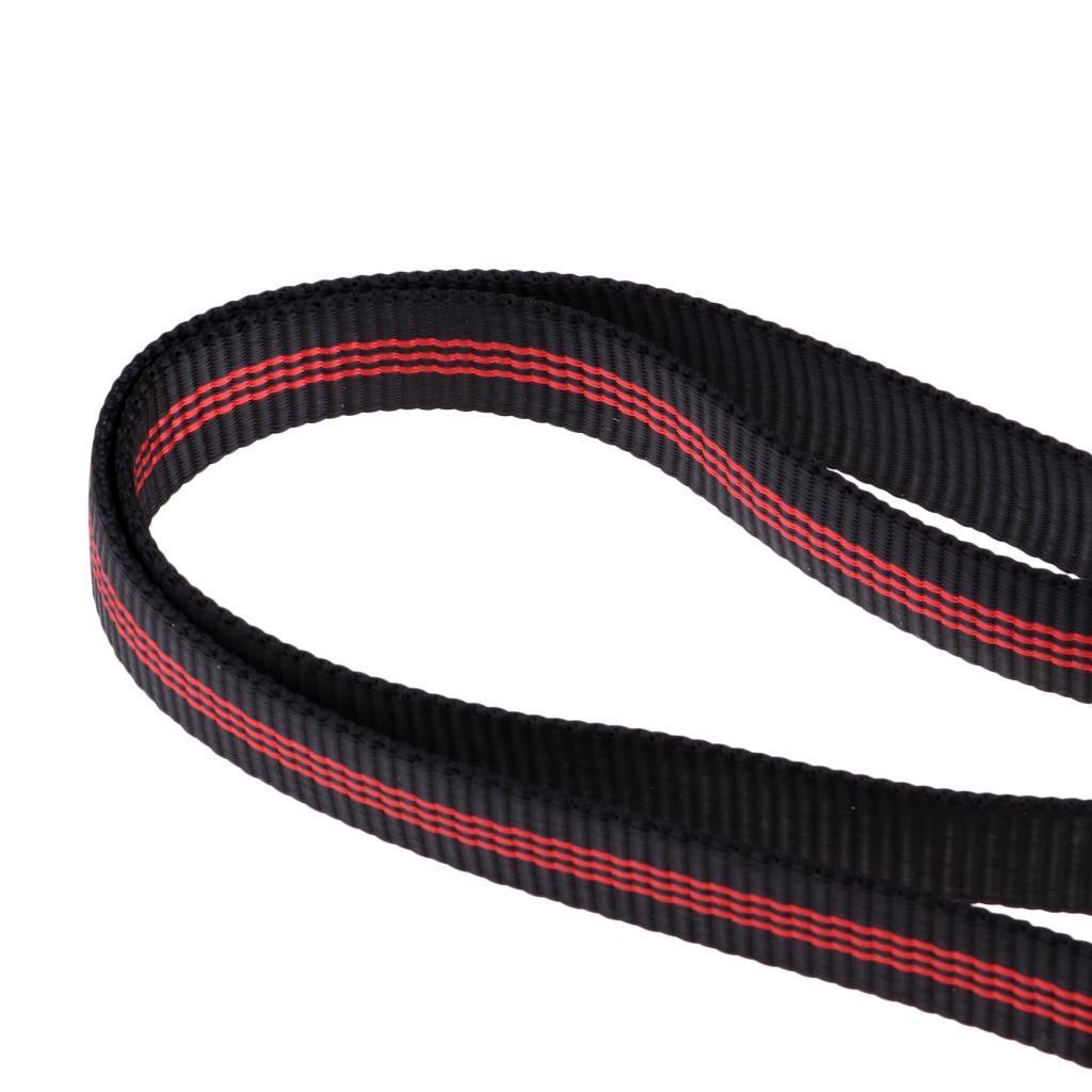 25KN 60cm Climbing Sling Bearing Strap Reinforce Rope belt Load-bearing Bandl .A