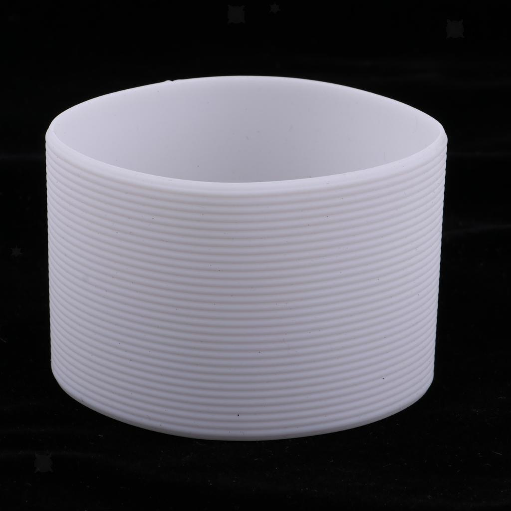 MagiDeal-Outdoors-Silicone-Round-Non-slip-Water-Bottle-Mug-Cup-Sleeve-Cover thumbnail 18