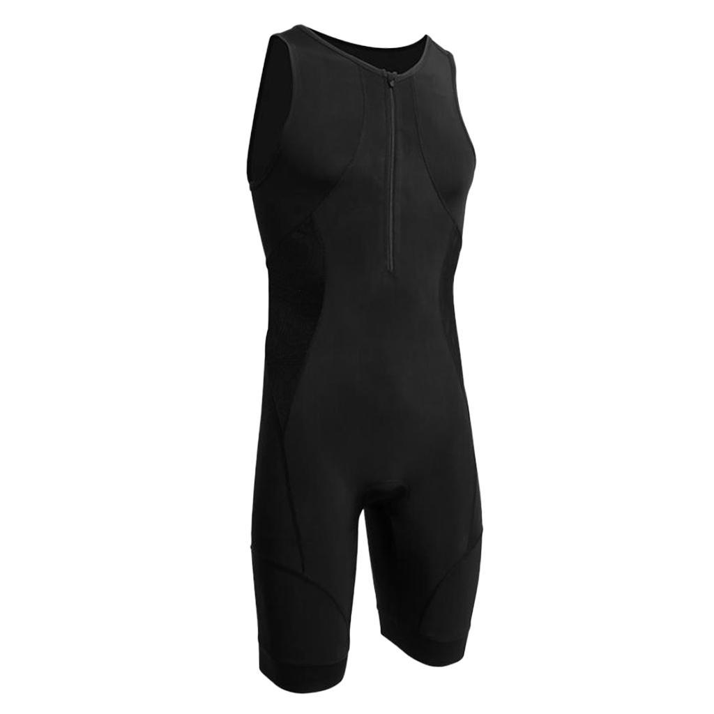 Men-039-s-Performance-Tri-Race-Suit-Race-for-Triathlon-Swimming-Running-Cycling thumbnail 7