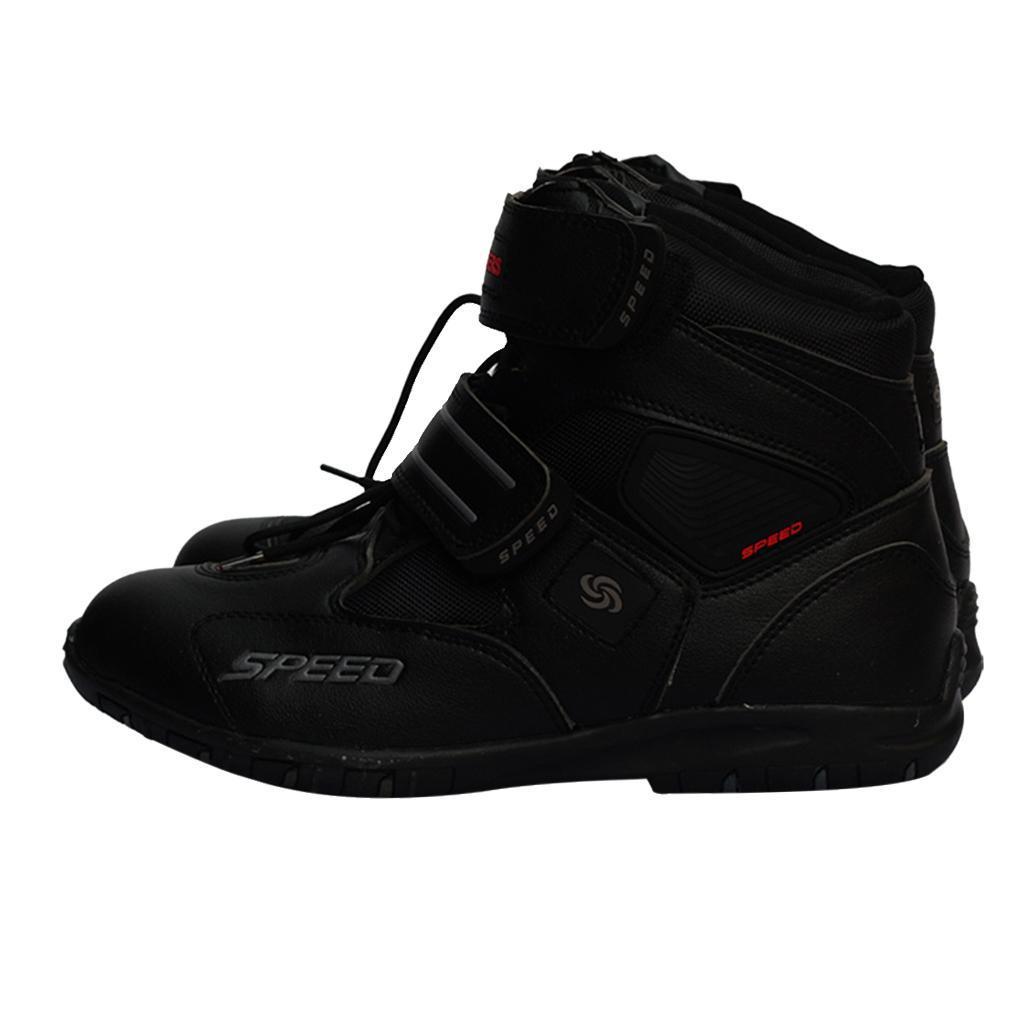 paio-di-scarpe-sportive-da-corsa-per-moto-da-corsa-impermeabili miniature 9