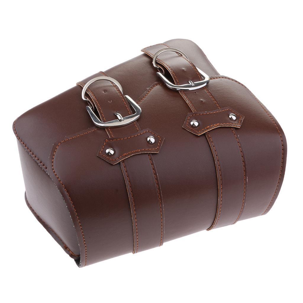 2-pcs-Borsa-Laterale-Pelle-Porta-Oggetti-Cintura-Regolabile-Per-Moto-Cruiser miniatura 10