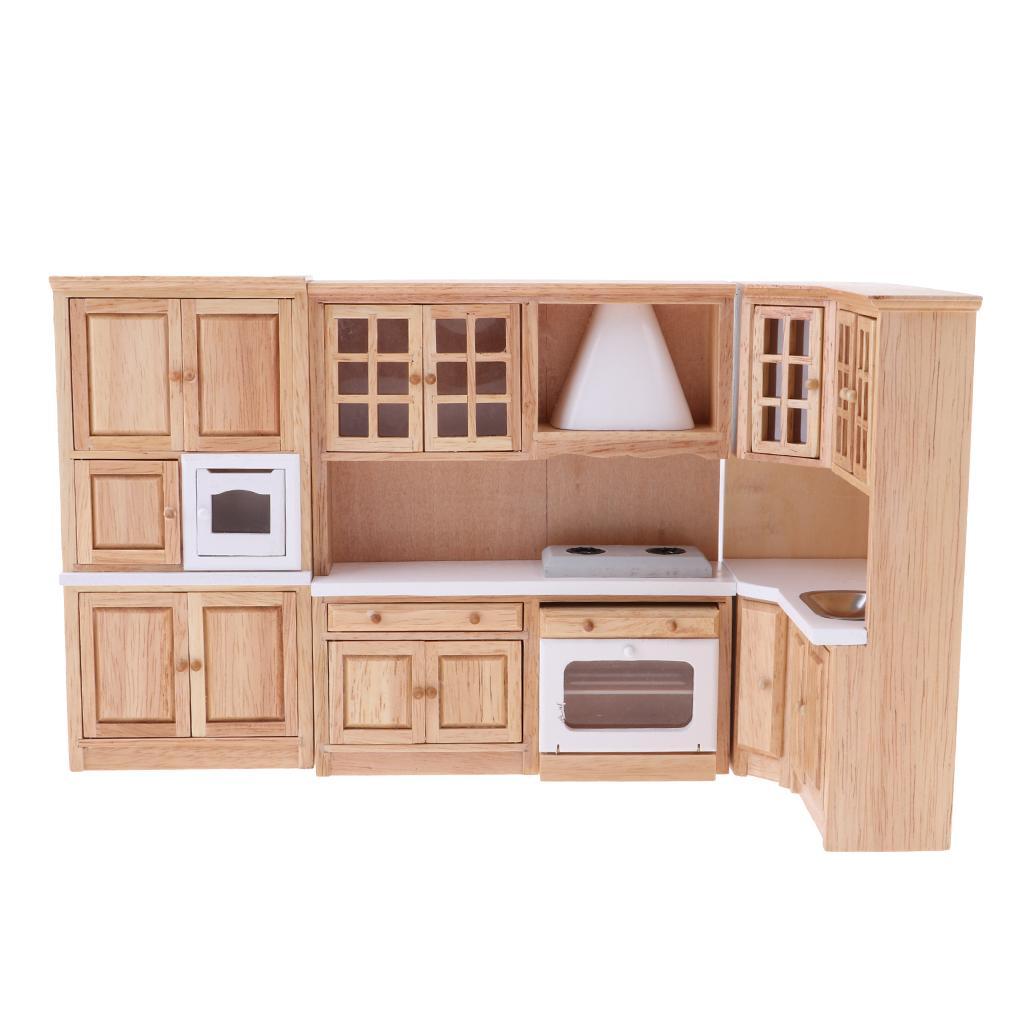 Burlywood cuisine salle à manger meubles 1 12 armoire armoire de cuisson