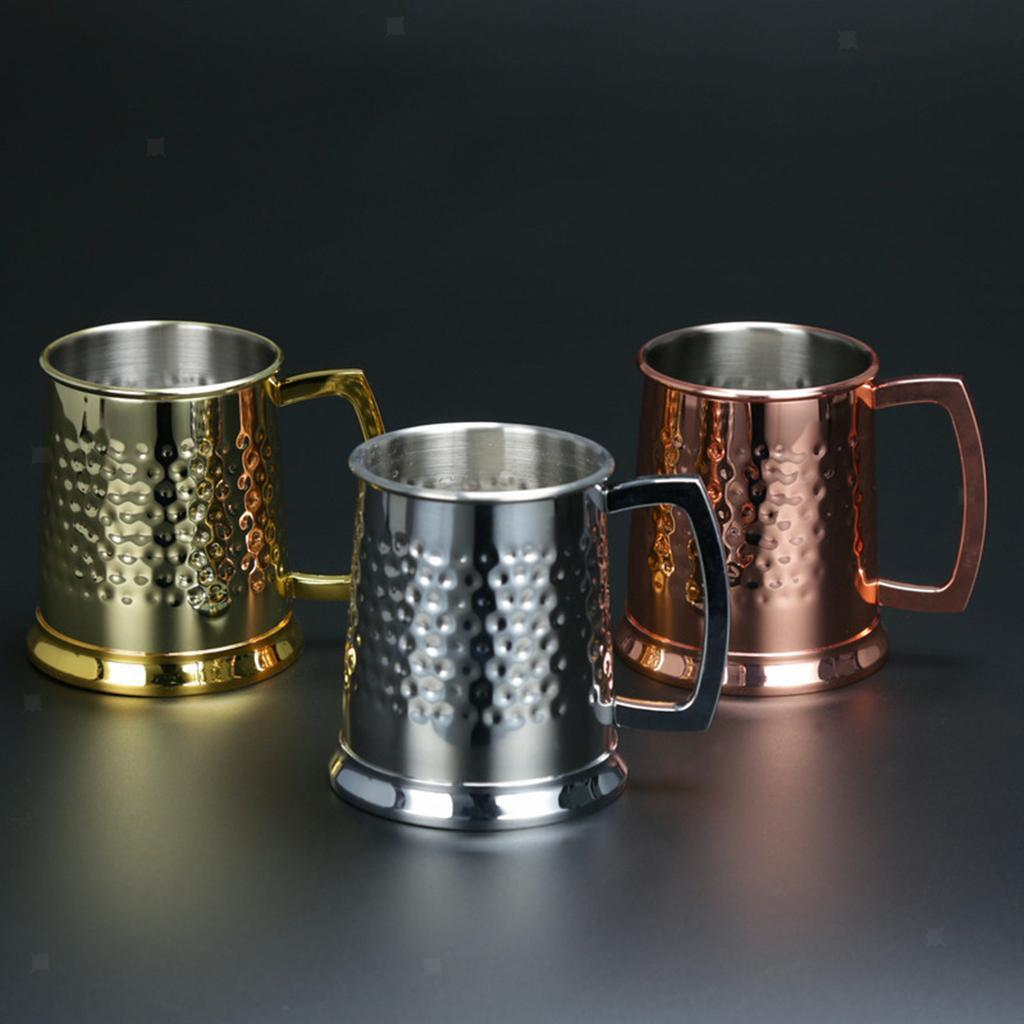 18oz-Cold-Drinkware-Moscow-Mule-Mugs-Coffee-Cup-Hand-Crafted-BPA-FREE thumbnail 3