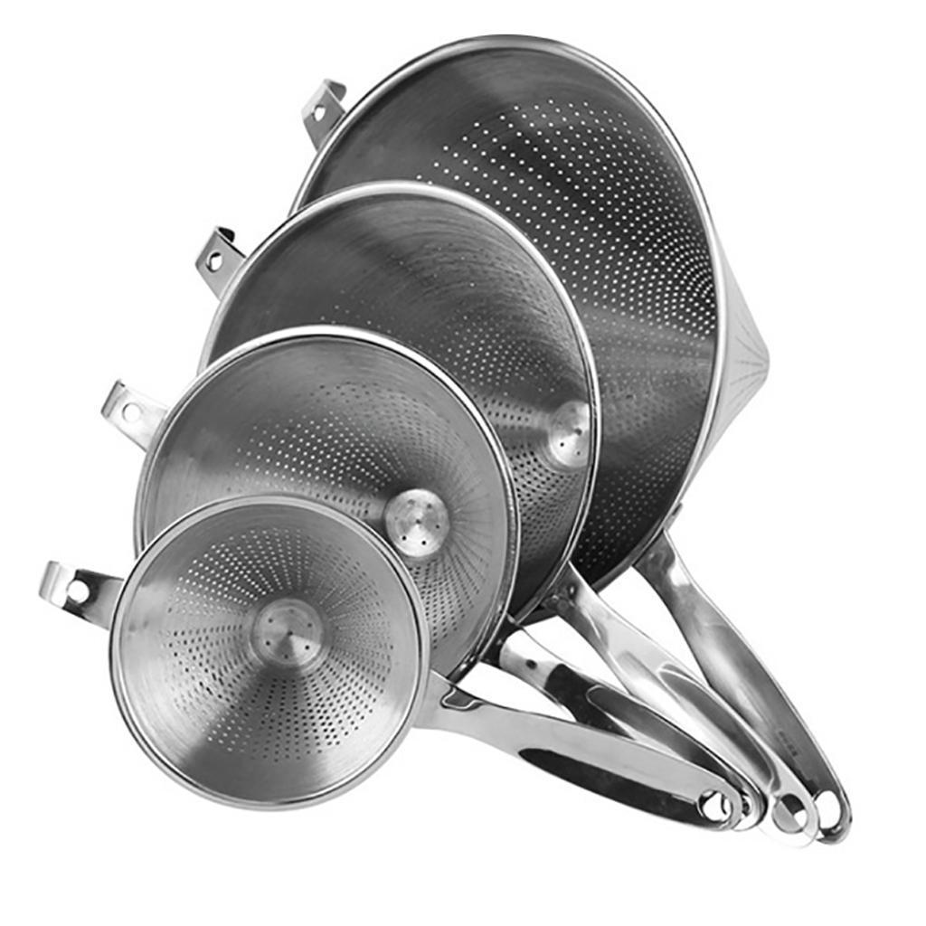miniatura 5 - Funnel Dry Liquid Funnel Cono Shape Accessorio Cucina Acciaio inossidabile