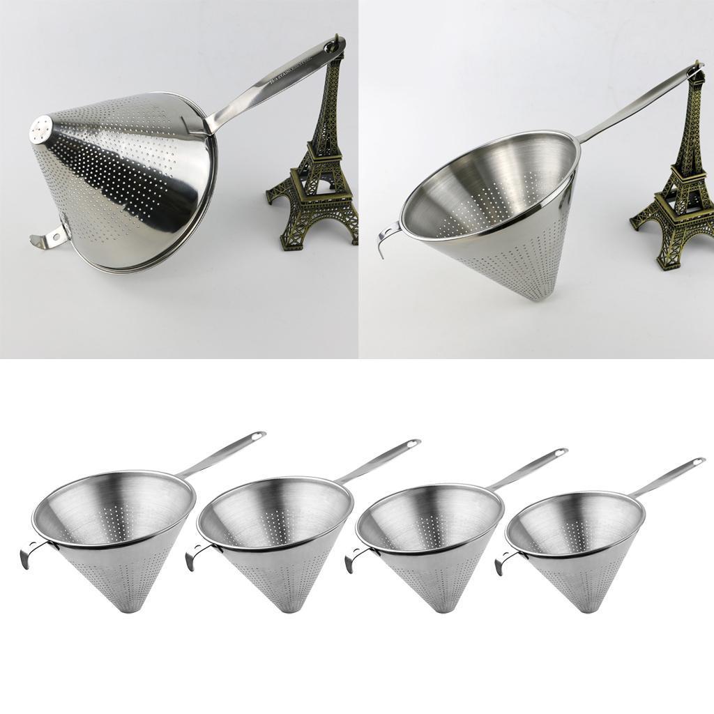 miniatura 3 - Funnel Dry Liquid Funnel Cono Shape Accessorio Cucina Acciaio inossidabile