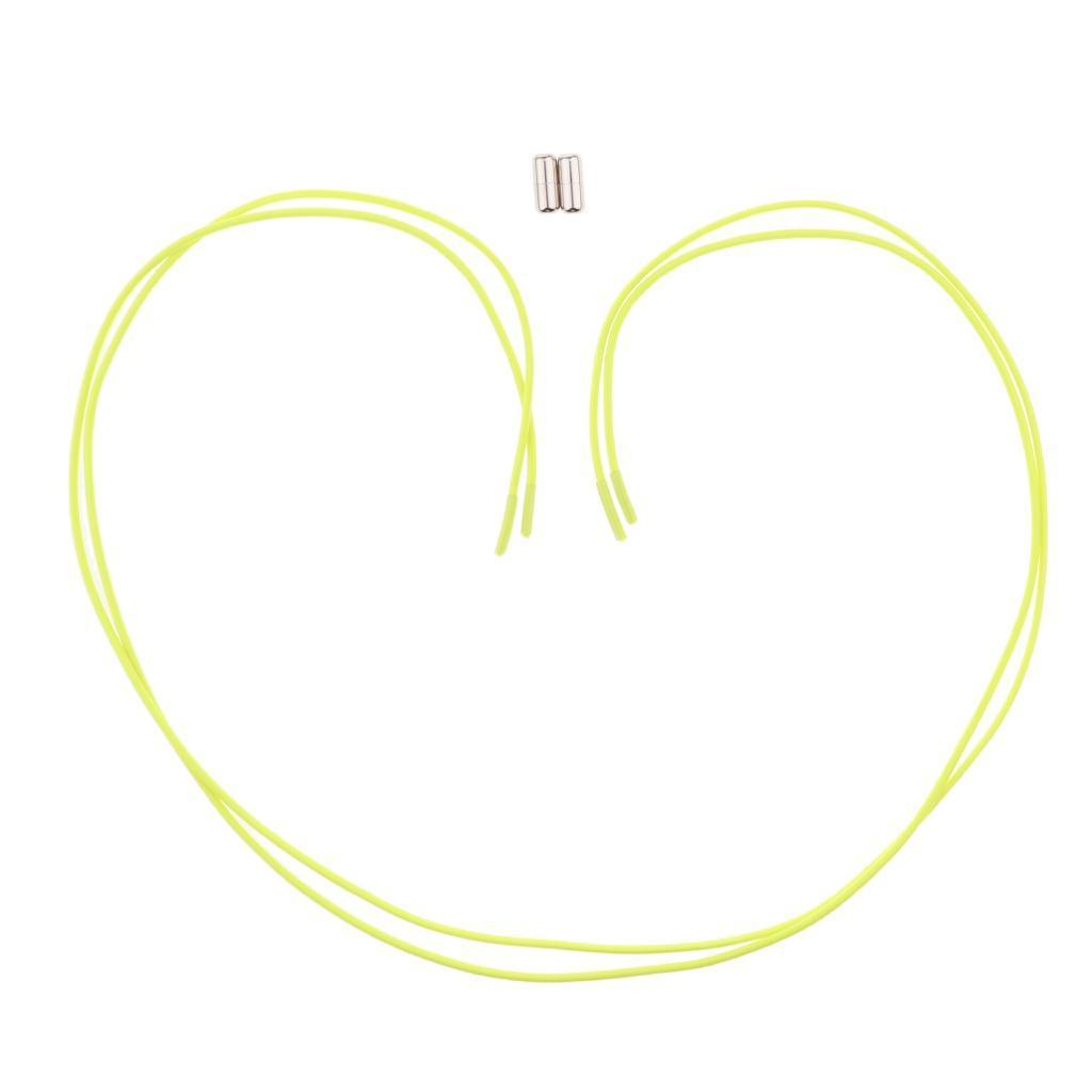 2pcs-ensemble-unisexe-aucune-cravate-lacets-elastiques-lacets-en miniature 26