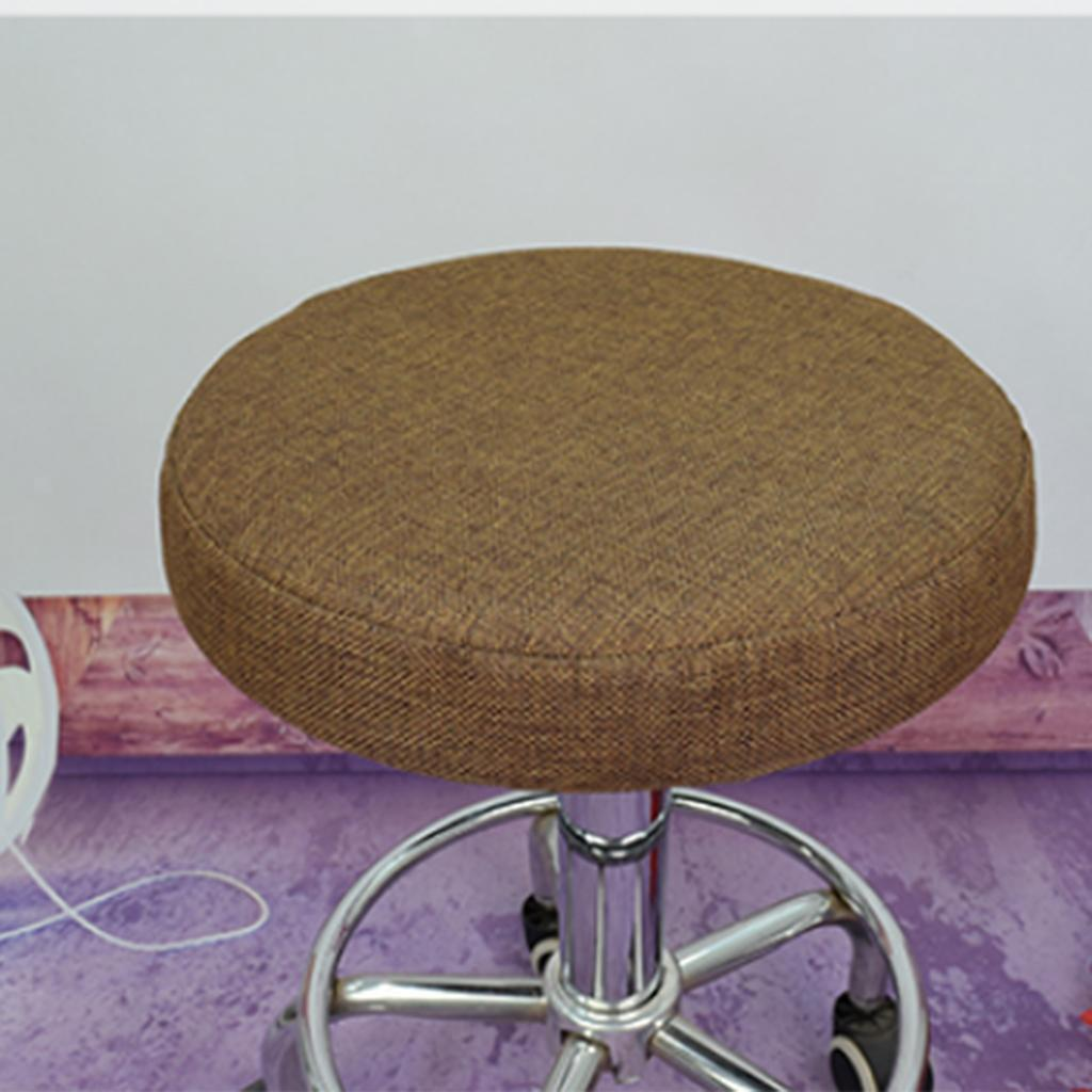 Bar Stool Cover Round Seat Replacement Chair Cover