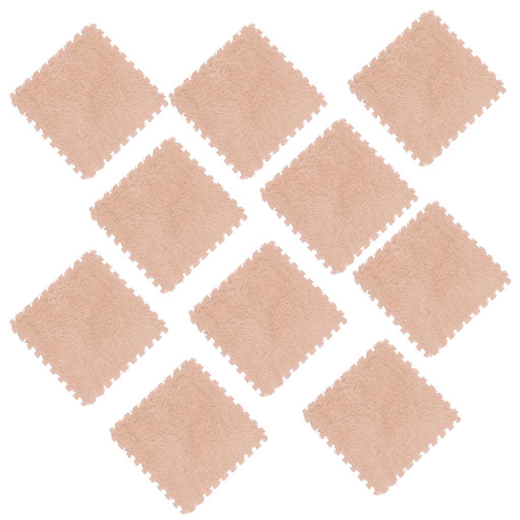 10Pcs-Foam-Children-Soft-Play-Exercise-Mats-Safe-Interlocking-Puzzle-Tiles thumbnail 7