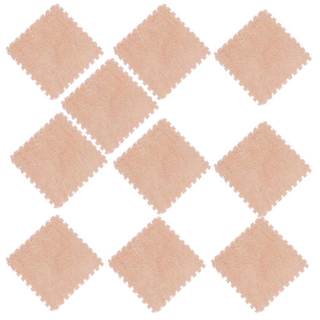 10Pcs-Foam-Children-Soft-Play-Exercise-Mats-Safe-Interlocking-Puzzle-Tiles thumbnail 6