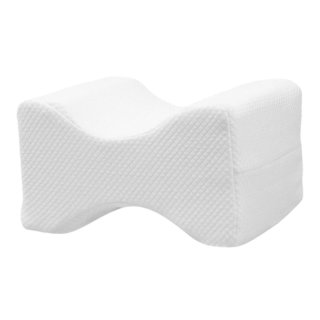 Memory-Foam-Leg-Pillow-with-Cover-Orthopaedic-Firm-Back-Hips-Knee-Support thumbnail 4