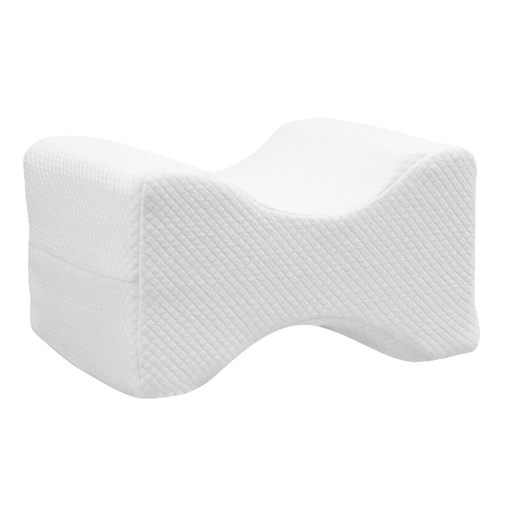 Memory-Foam-Leg-Pillow-with-Cover-Orthopaedic-Firm-Back-Hips-Knee-Support thumbnail 3