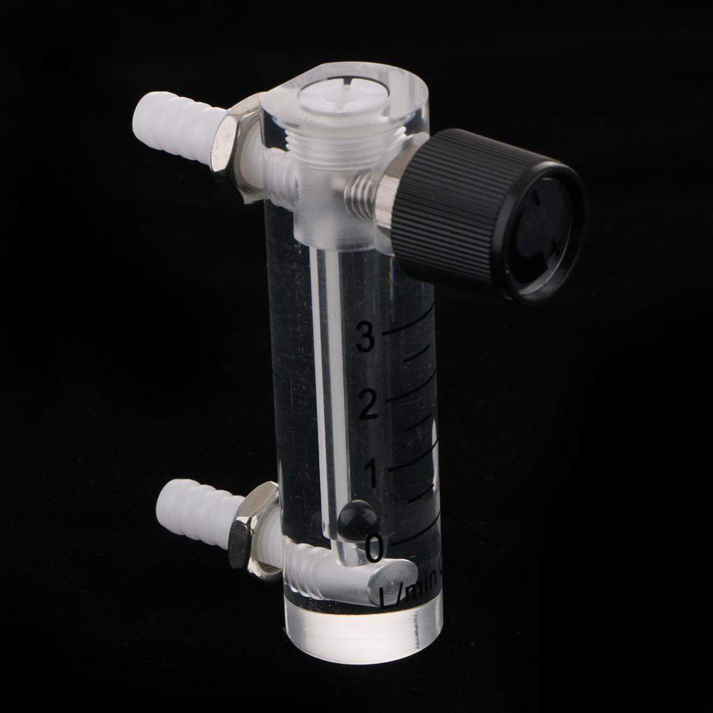 0-3LPM Gas Oxygen Flow Meter With Control Valve for Oxygen Concentrator Flow