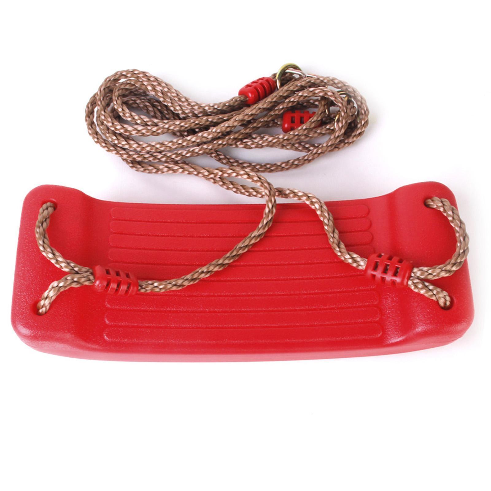 Garden-Swing-Set-Seat-Rope-Hanging-Strap-Connector-Metal-Chain-Kid-Adult-Outdoor miniatuur 9