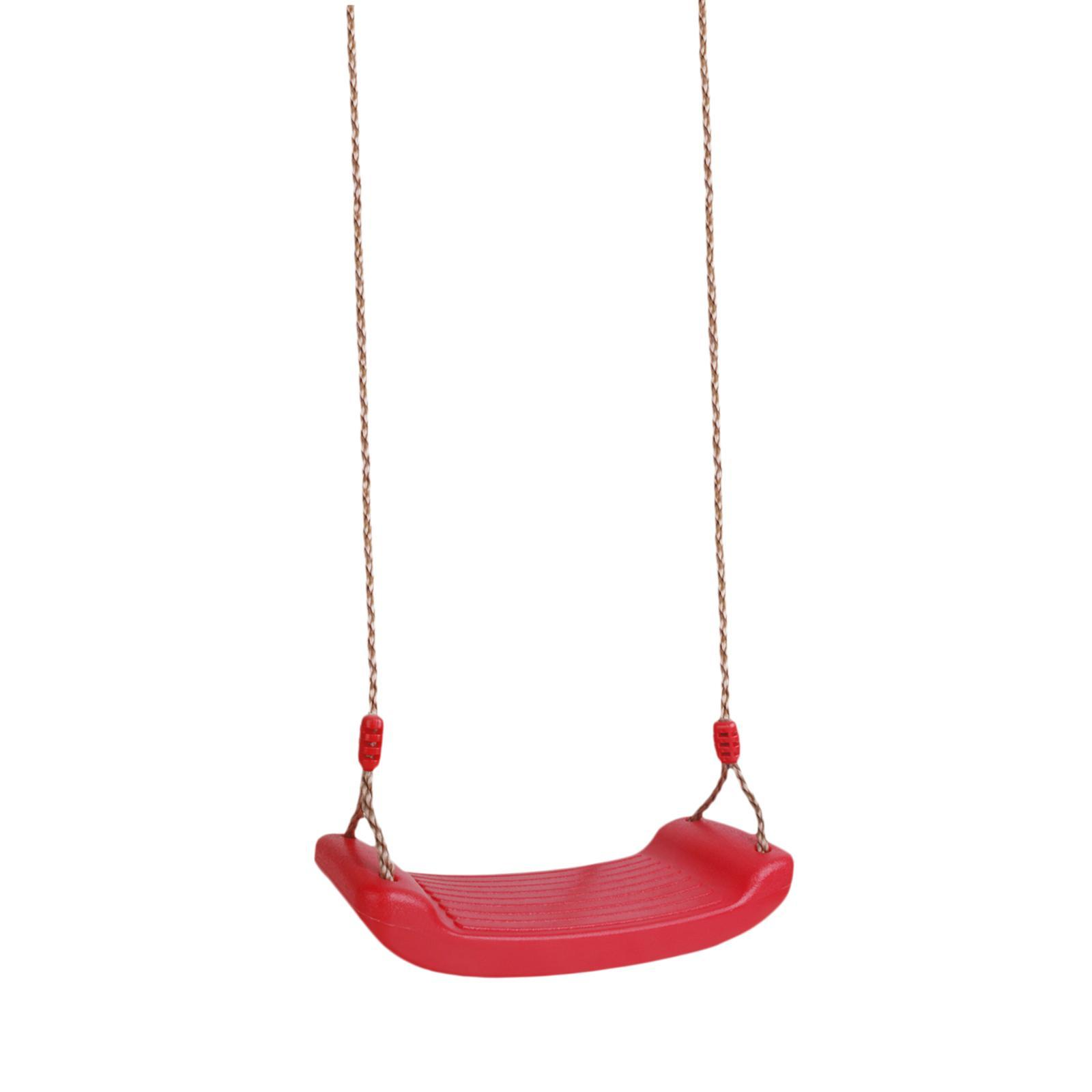 Garden-Swing-Set-Seat-Rope-Strap-Connector-Chain-Kid-Adult-Outdoor-Fun-Play-Game miniatuur 9