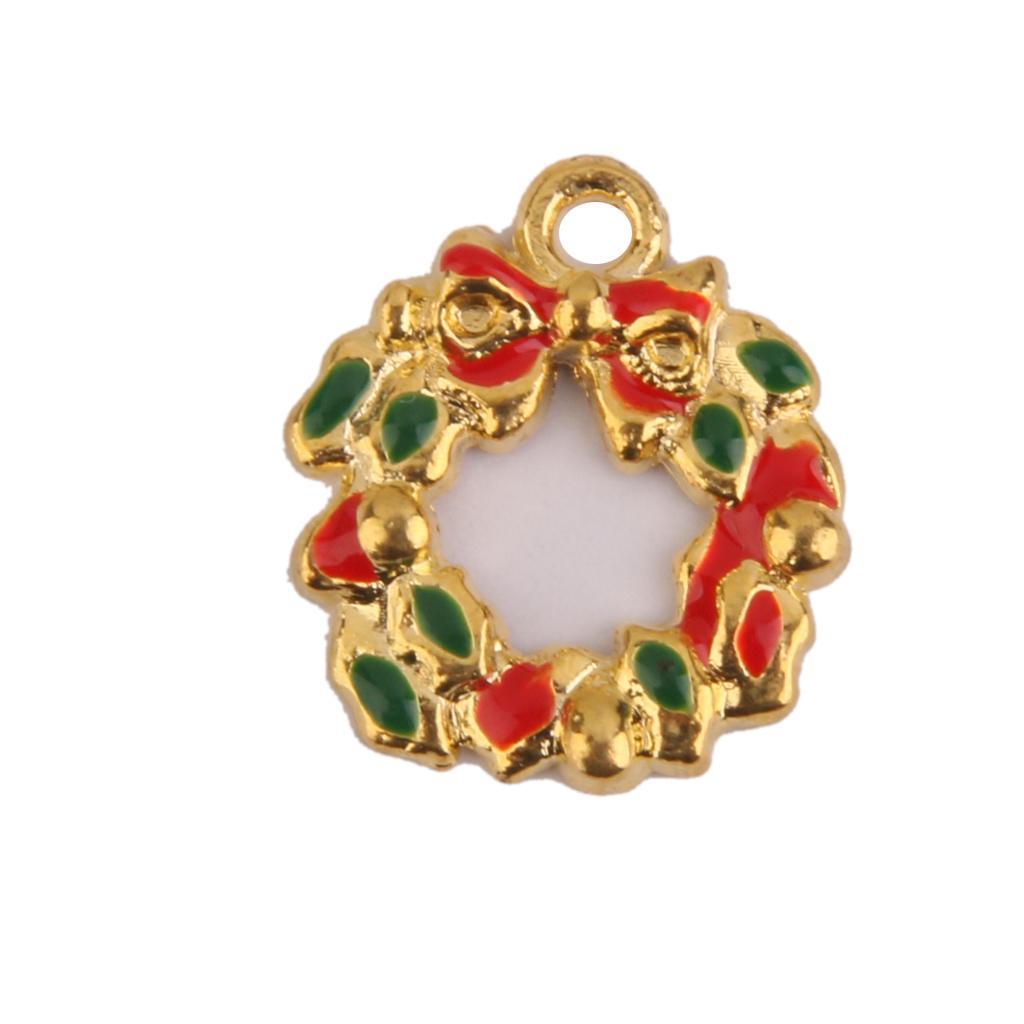 Pendentifs-Breloques-Charms-pour-Bijoux-Collier-Bracelet-DIY-Artisanat miniature 6