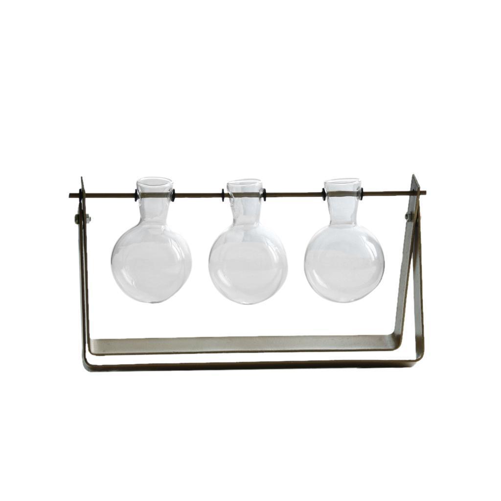Vase-Boule-Suspension-de-plantes-en-verre-Container-a-Fleurs-Maison-Jardin-Decor miniature 11