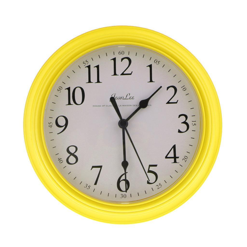 Modern Large 9 inches Wall Clock Quartz Digital Clock ...