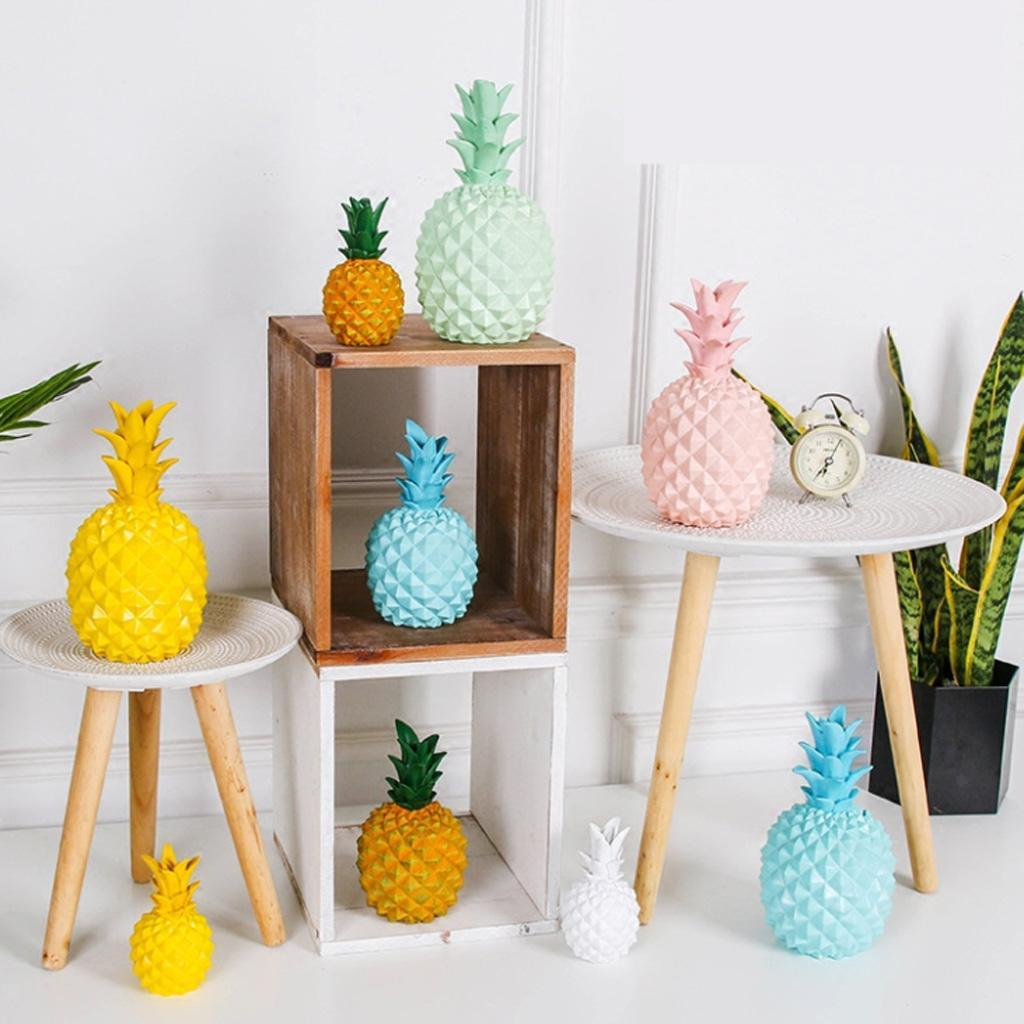 Cute Gift Home Decoration Pineapple Money Boxes Piggy Bank  Coin Saving Box