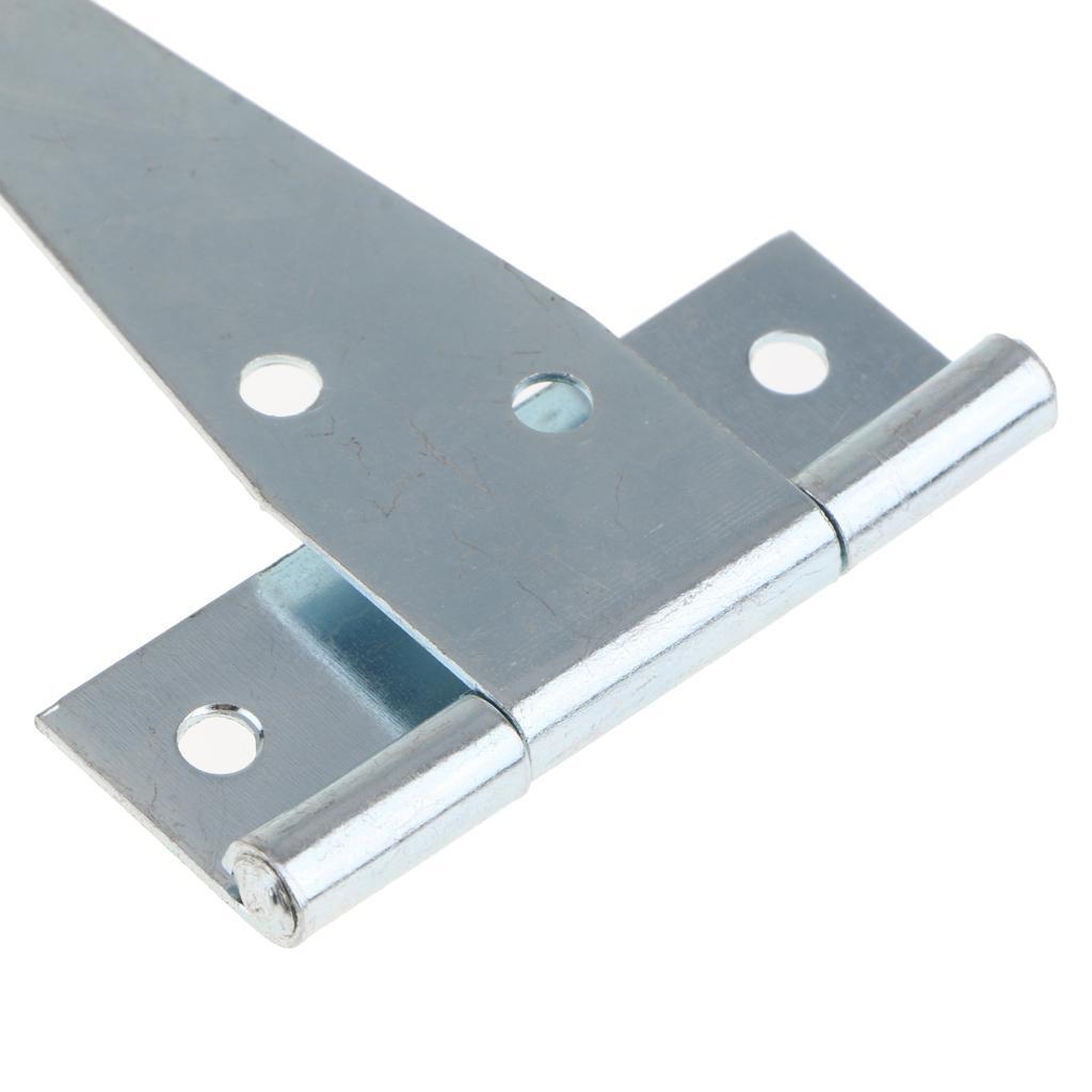 1 Pair Heavy Duty T Hinge Cabinet Shed Door Gate Tee Hinges T-Hinge 4inch