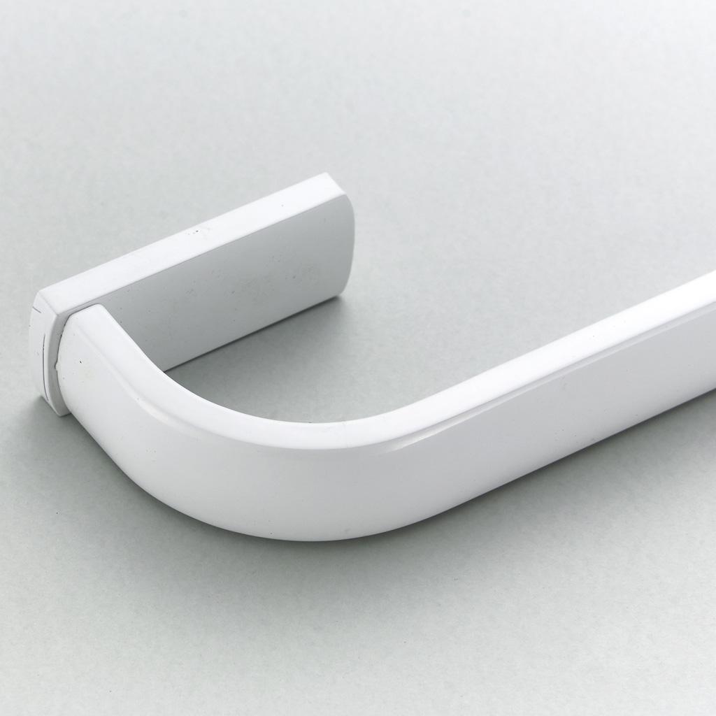 Barra-Visualizzazione-Singola-Portasciugamani-Asta-Gancio-Abbellimenti-Porta miniatura 4