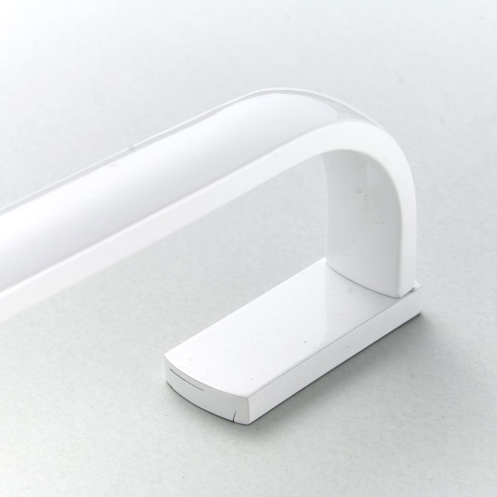 Barra-Visualizzazione-Singola-Portasciugamani-Asta-Gancio-Abbellimenti-Porta miniatura 5