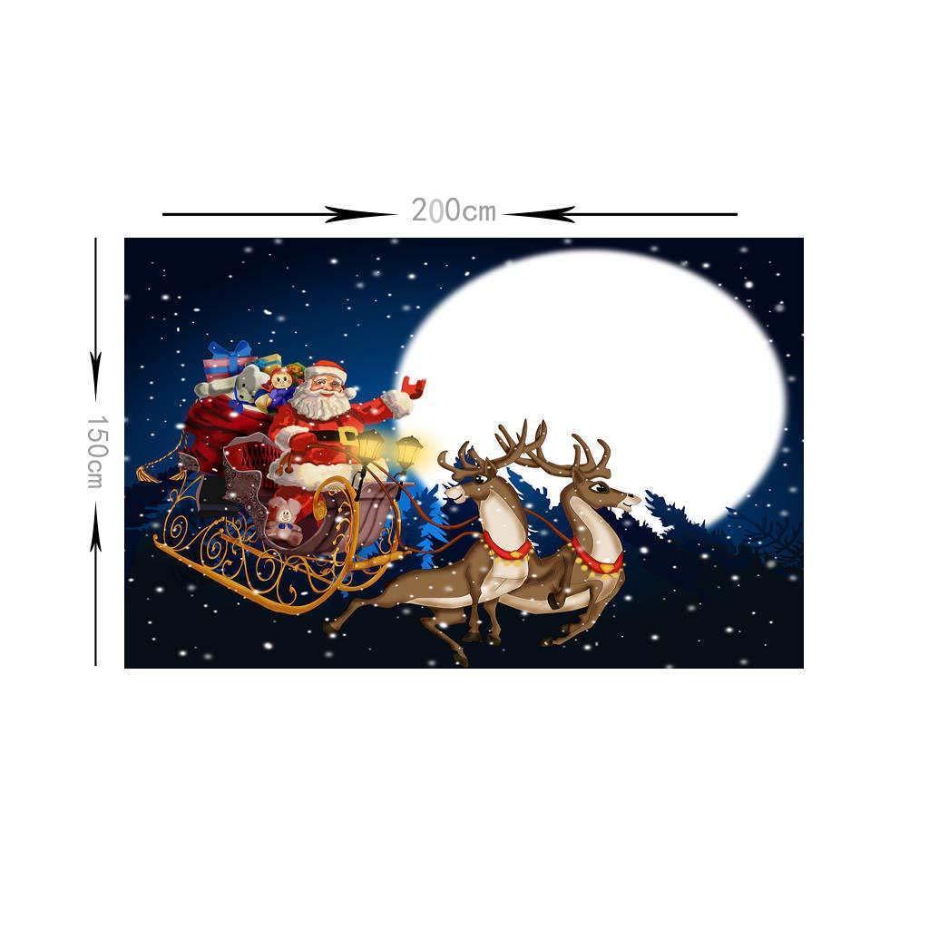 Scenografia-di-Natale-Murale-Arazzo miniatura 8