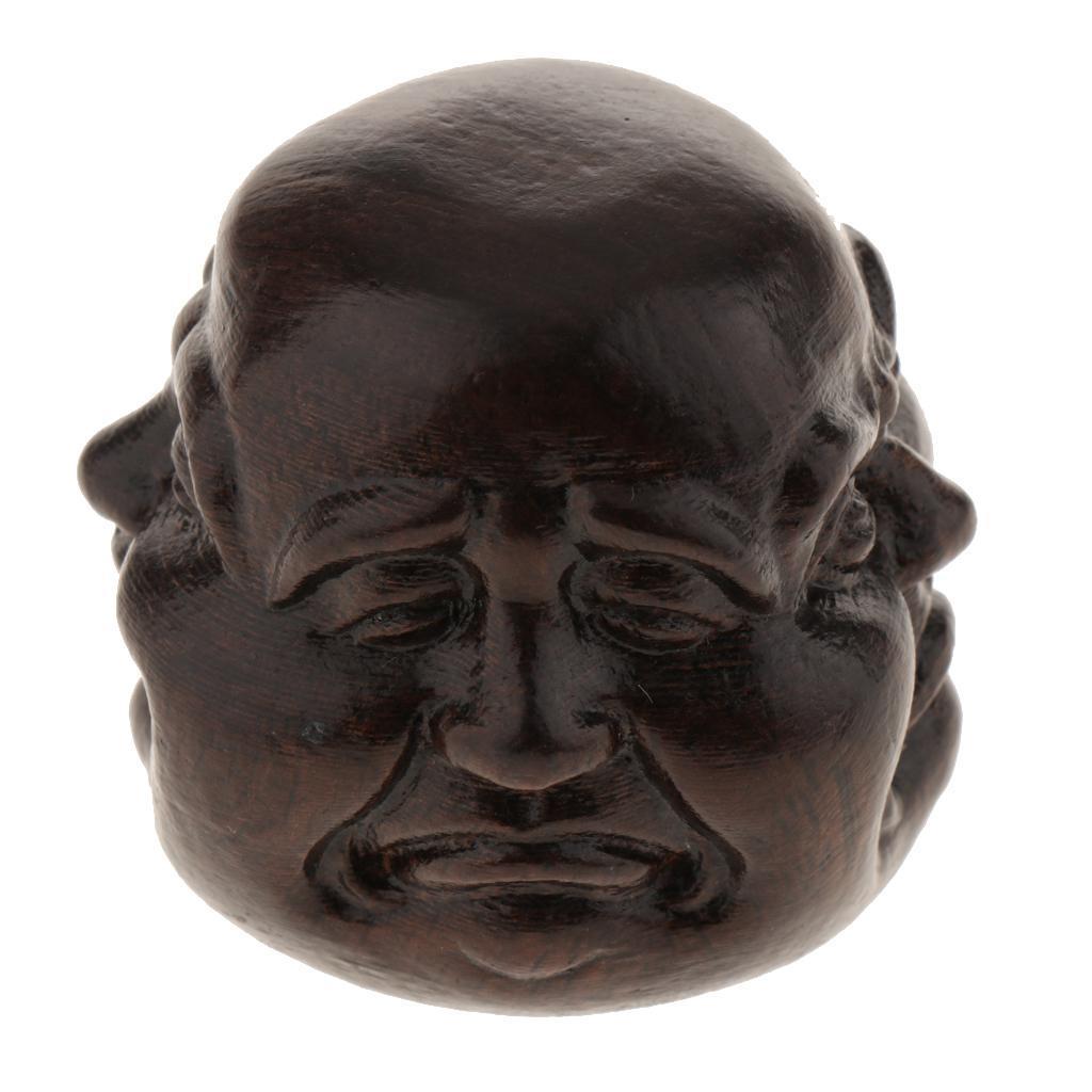 Handgemachte-hoelzerne-Figuerchengeschnitzte-Buddha-Skulptur-Verzierung-fuer Indexbild 3