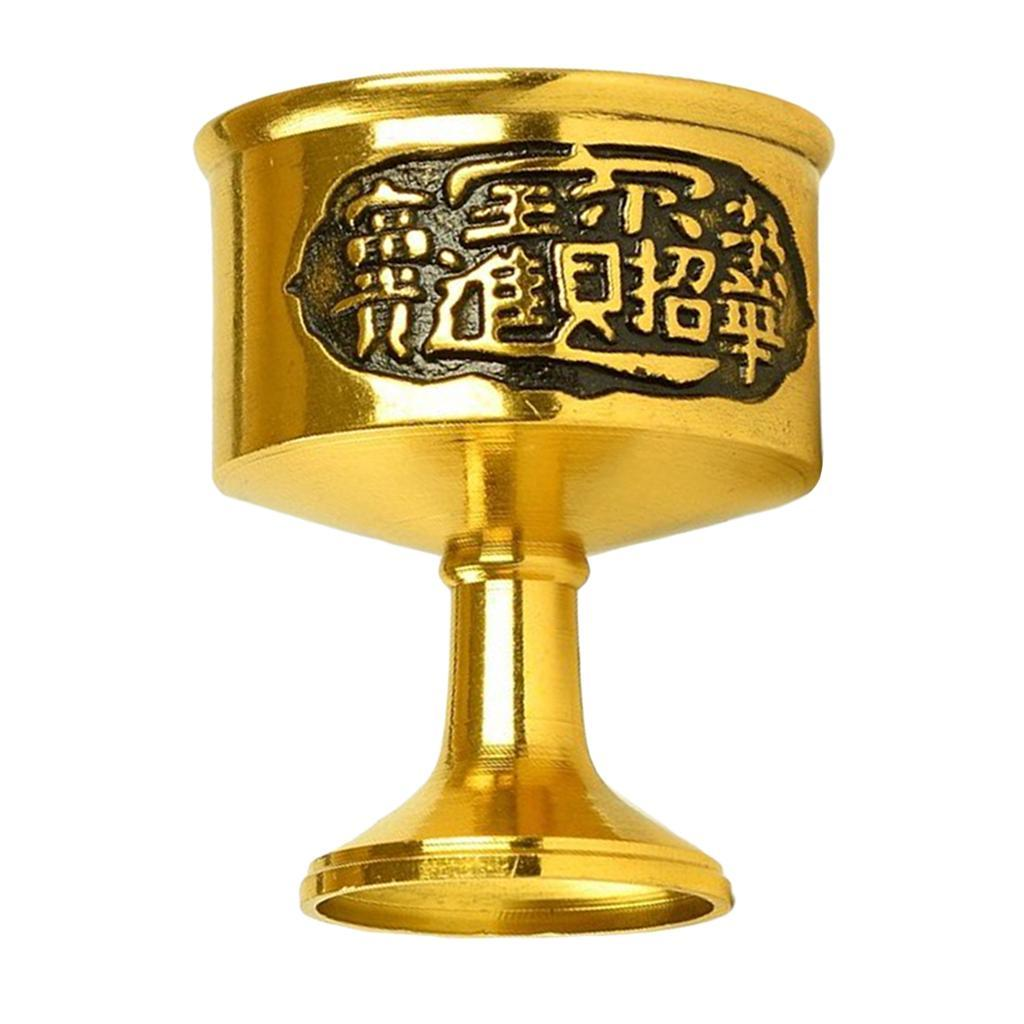 miniatura 10 - Coppa Tazza Buddista Holy Water Acqua Cup Blessing Tibetan Accessori