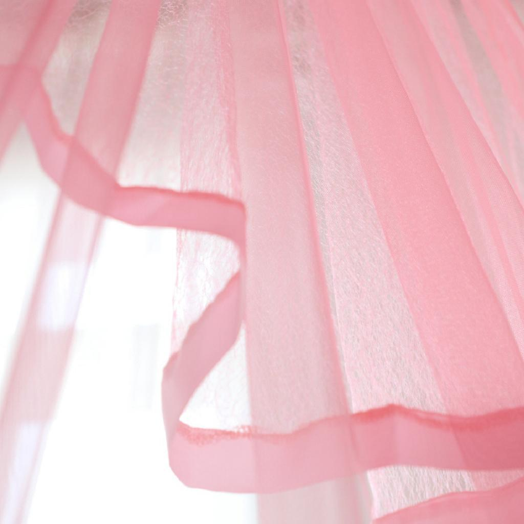 Baby-Crib-Summer-Dome-Bed-Canopy-Mosquito-Net-Gauze-Curtain-Hanging-Decor thumbnail 7