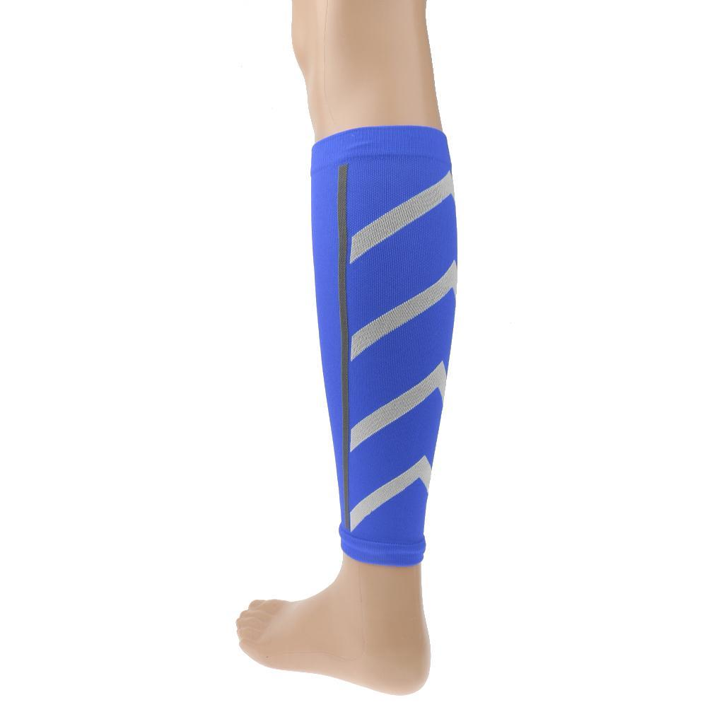 2 Pairs Shin Splints Wrap Leg Support Brace Calf Compression Sleeves Socks