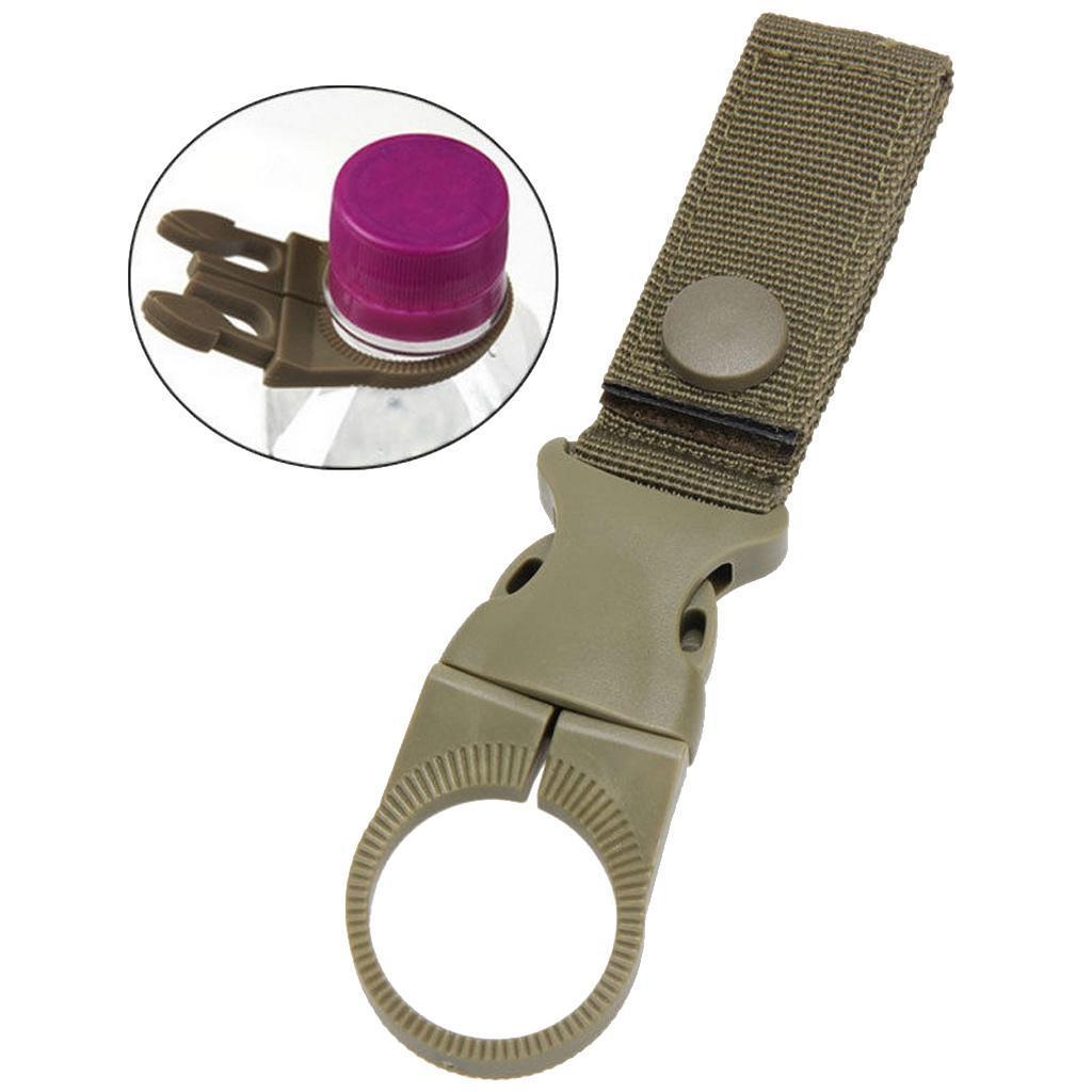Tactical Molle Hanging Strap Webbing Buckle Clip Key Bottle Hook Belt To TDss