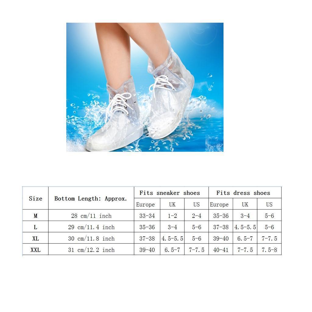 Copriscarpe-impermeabili-pieghevoli-riutilizzabili-da-donna-per-uomo miniatura 34