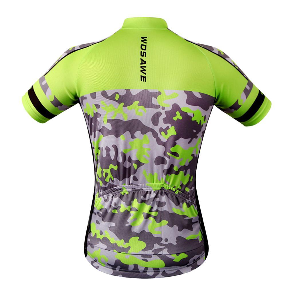 Homme-Maillots-De-Cyclisme-Velo-a-Manches-Courtes-Respirant-T-Shirt miniature 33