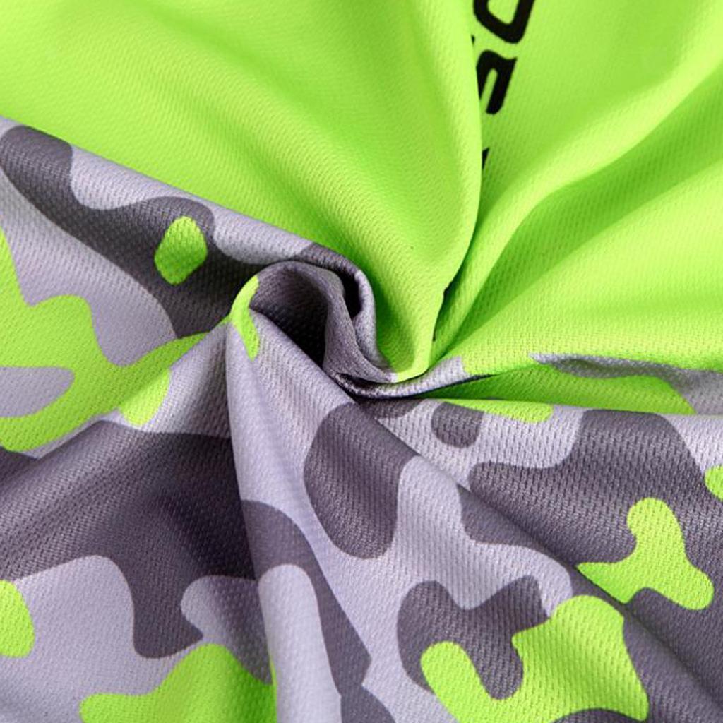 Homme-Maillots-De-Cyclisme-Velo-a-Manches-Courtes-Respirant-T-Shirt miniature 32