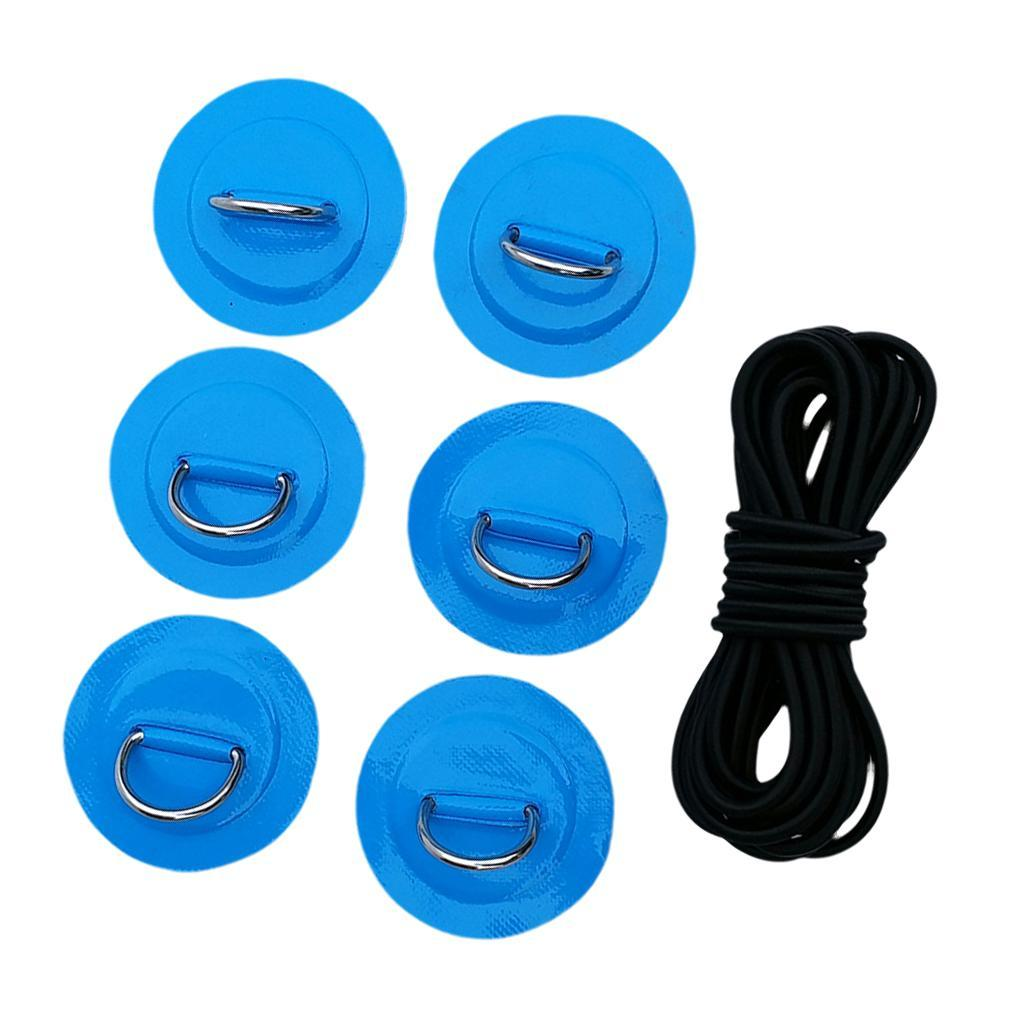 SUP-Stand-Up-Paddle-Bungee-Corda-Elastico-Deck-Rigging-Kit-Bungee-Per miniatura 10