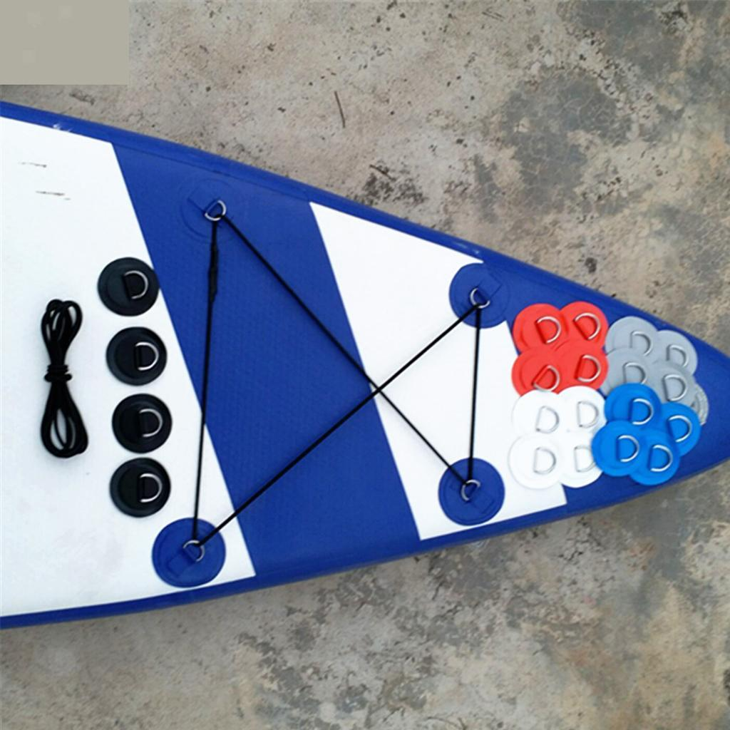 SUP-Stand-Up-Paddle-Bungee-Corda-Elastico-Deck-Rigging-Kit-Bungee-Per miniatura 11