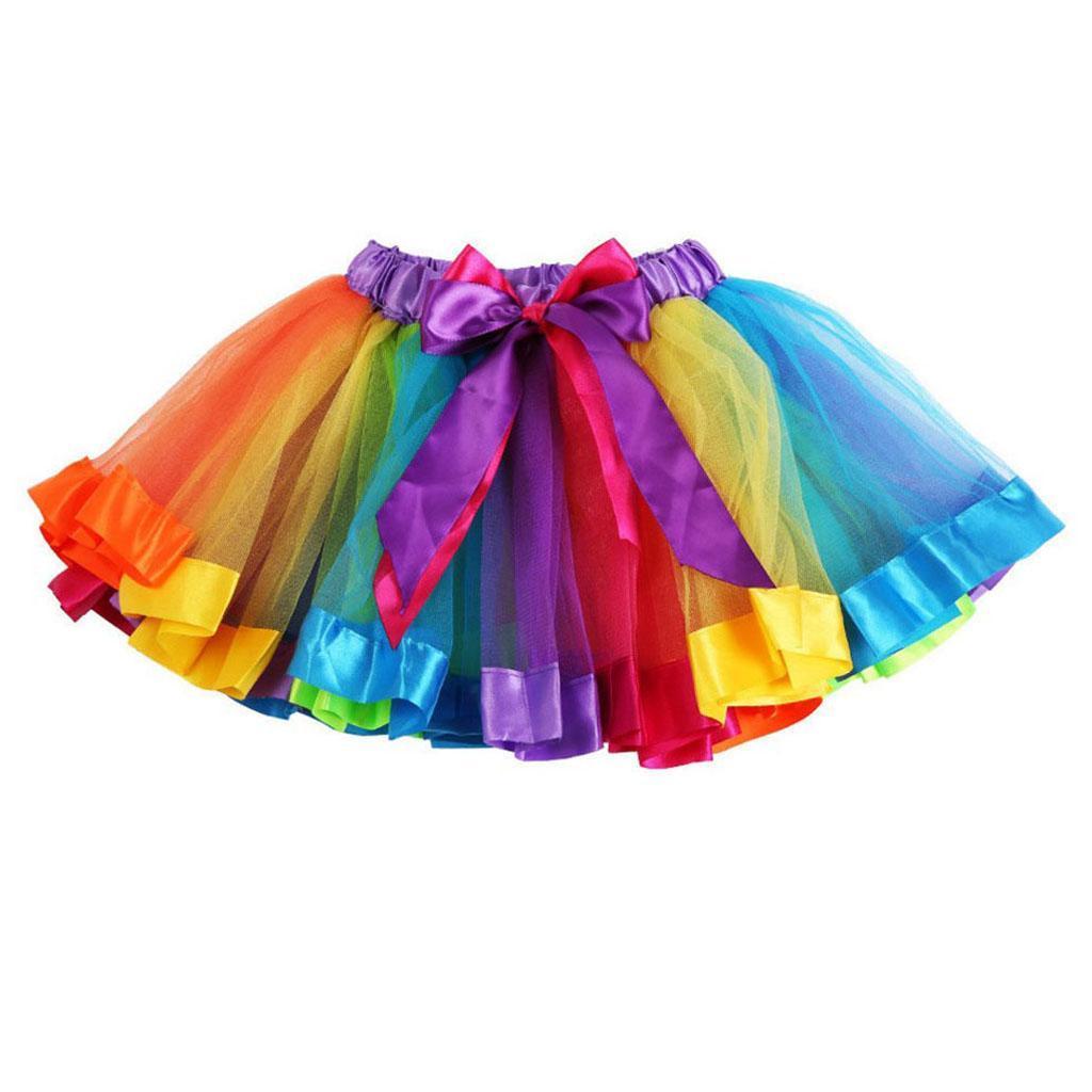 JupeTutu-Bebe-Filles-Enfants-Costume-De-Fete-Fantaisie-Tutu-Pettiskirt miniature 11