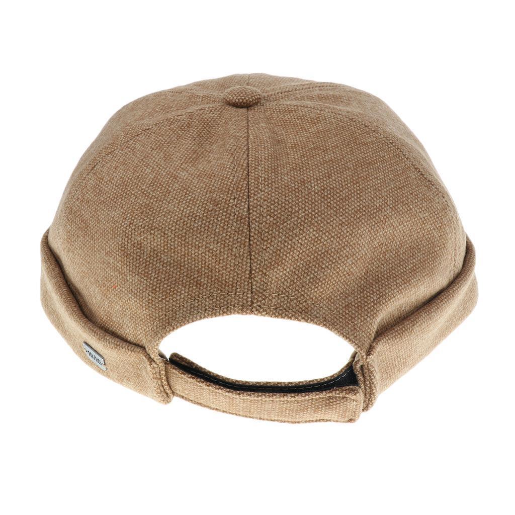 2pcs-Bonnet-Docker-en-Coton-Retro-Style-Chinois-pour-Homme miniature 4