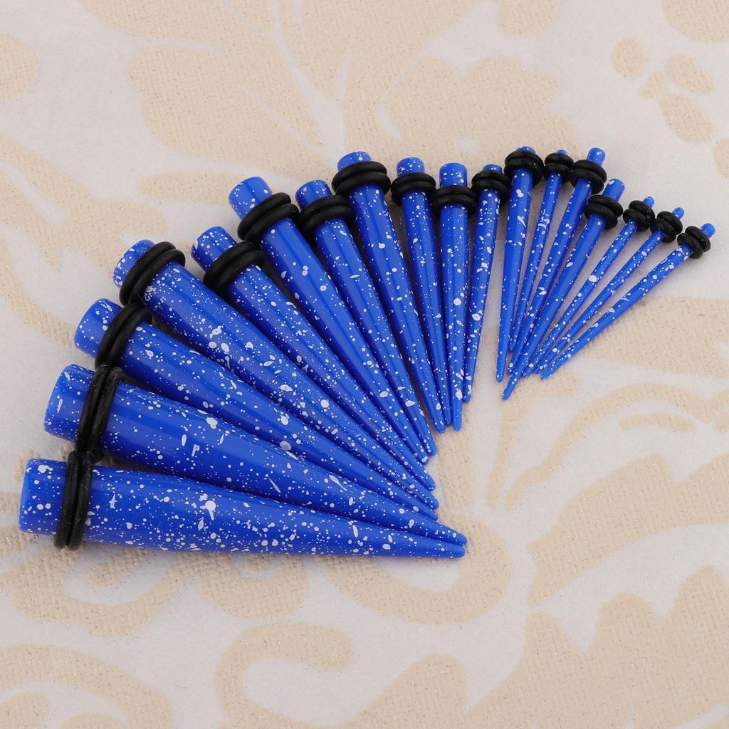 18-pezzi-Guarnizioni-coniche-toriche-in-acrilico miniatura 20