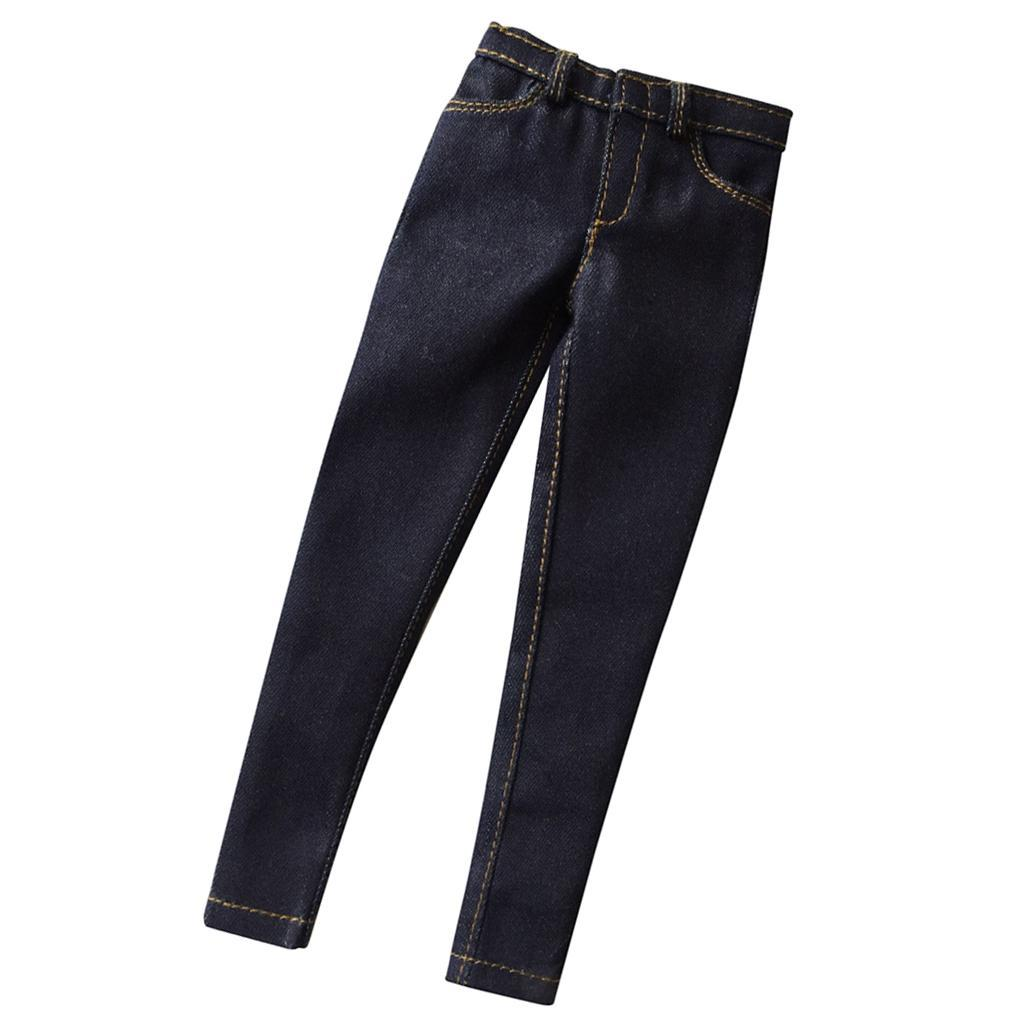 """1:6 Scale Jeans Pants and Boots for 12/"""" Hot Toys BBI Enterbay Men Figures"""