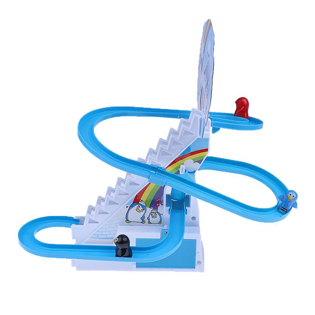 Spielerische und pädagogische Penguin Slide Race Set Verbesserte Version