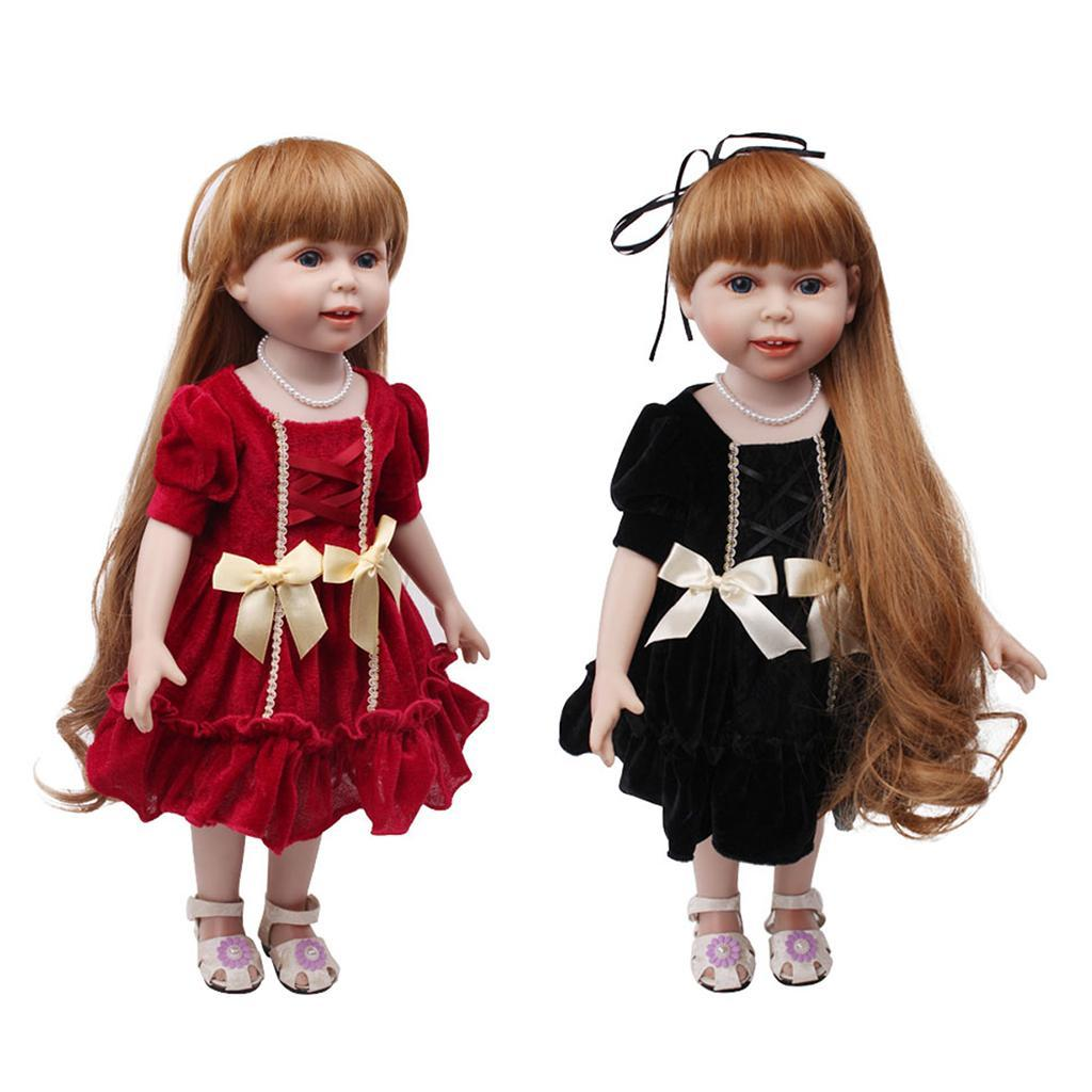 Charming-Summer-Pleated-Skirt-for-AG-American-Doll-18inch-Doll-Dress-Up-Accs miniature 4